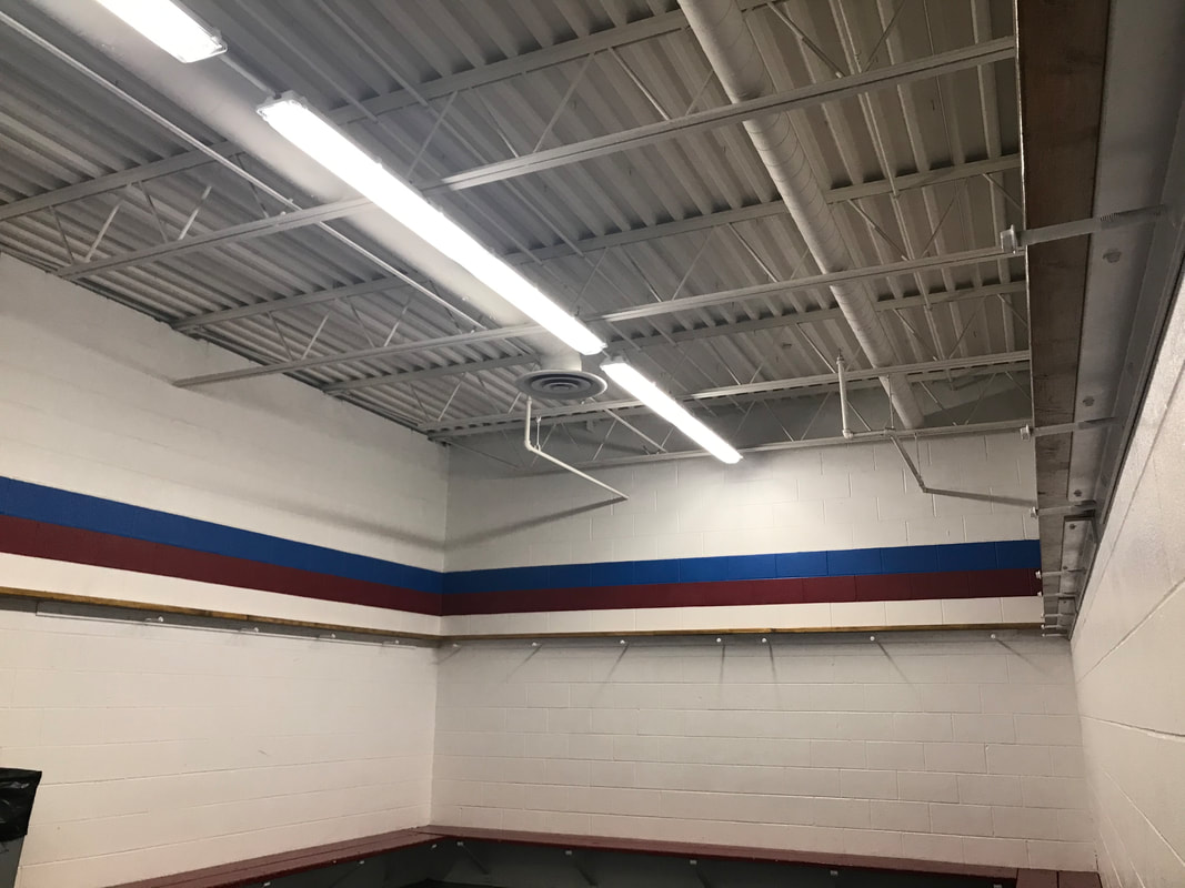 Locker Rooms At Crystal Fieldhouse 2020